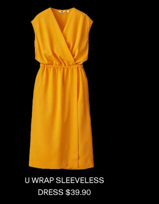 U SHIRT LONG-SLEEVE DRESS $49.90