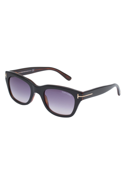 Reece Sunglasses in Shiny Dark Havana