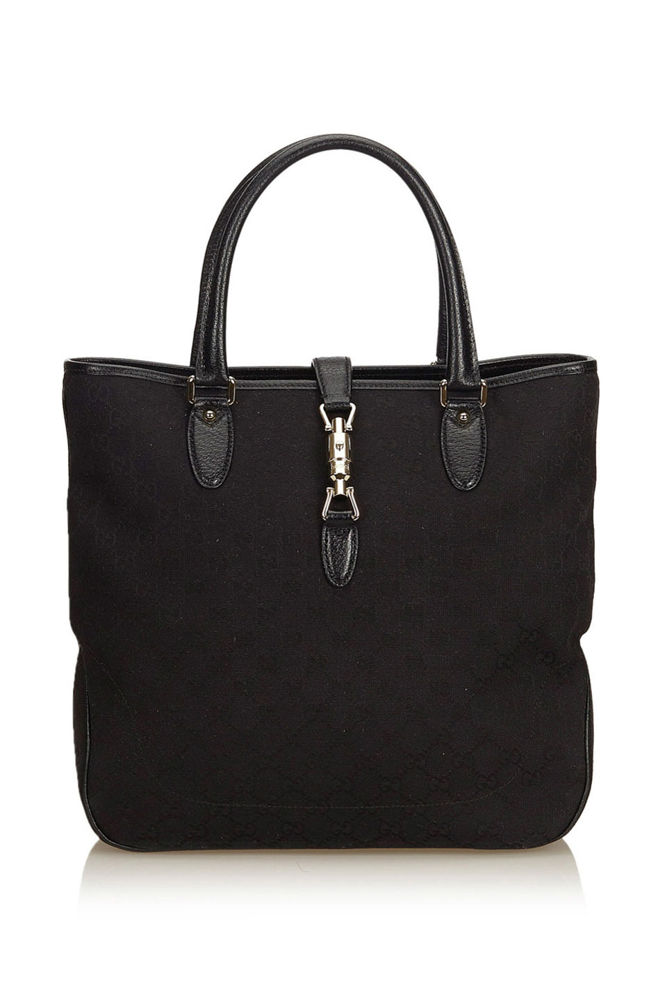 Guccissima New Jackie Tote in Black