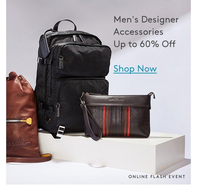 Men's Designer Accessories Up to 60% Off | Shop Now | Online Flash Event