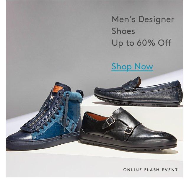 Men's Designer Shoes Up to 60% Off | Shop Now | Online Flash Event