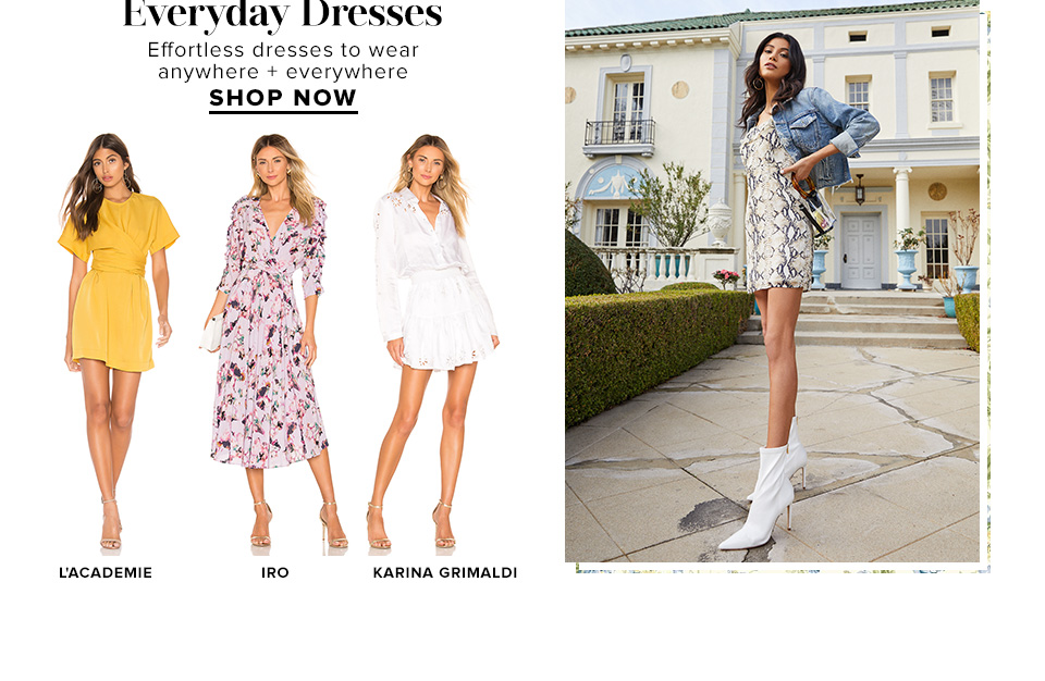 Everyday Dresses. Effortless dresses to wear anywhere + everywhere. Shop Now.