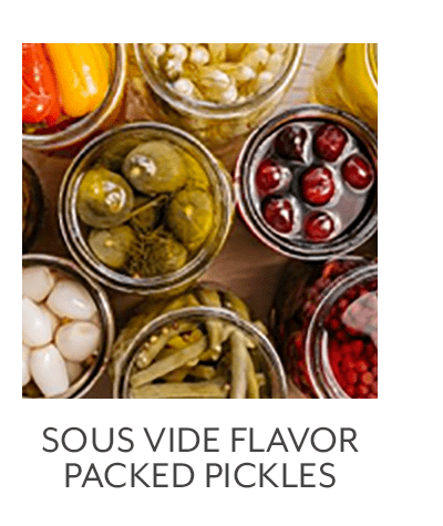 Flavor Packed Pickles