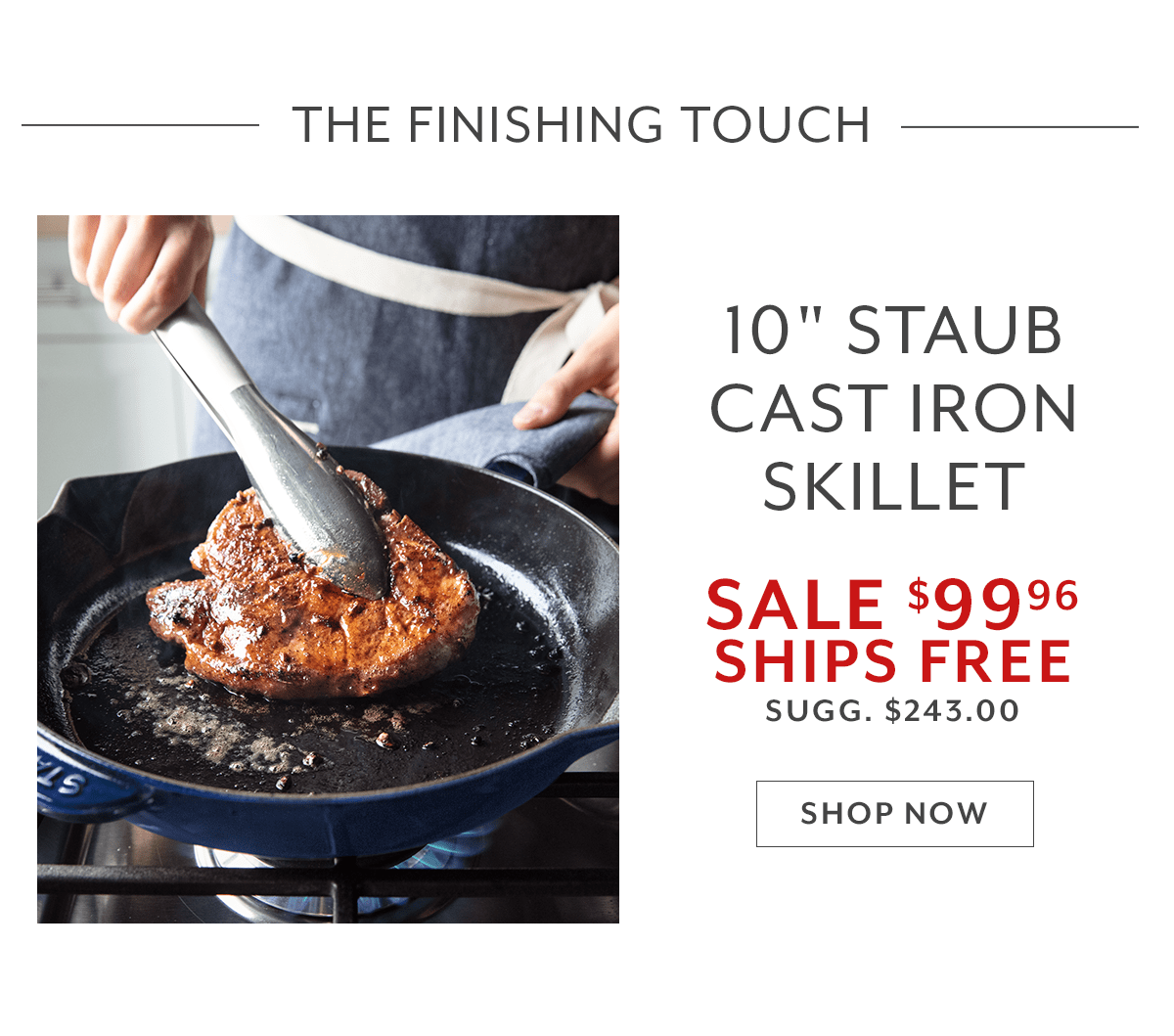 Staub Cast Iron Skillet