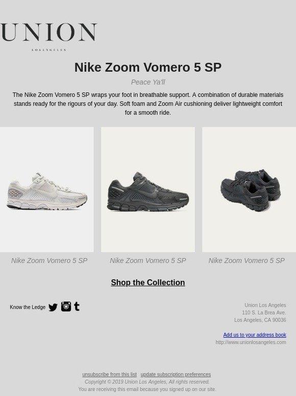 4b5eddcfe3e Union Los Angeles  Nike Zoom Vomero 5 SP (AVAILABLE NOW)
