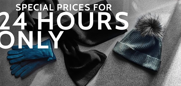 Winter Accessories Sale
