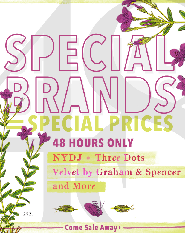 NYDJ & More at Special Prices. Plant yourself HERE.