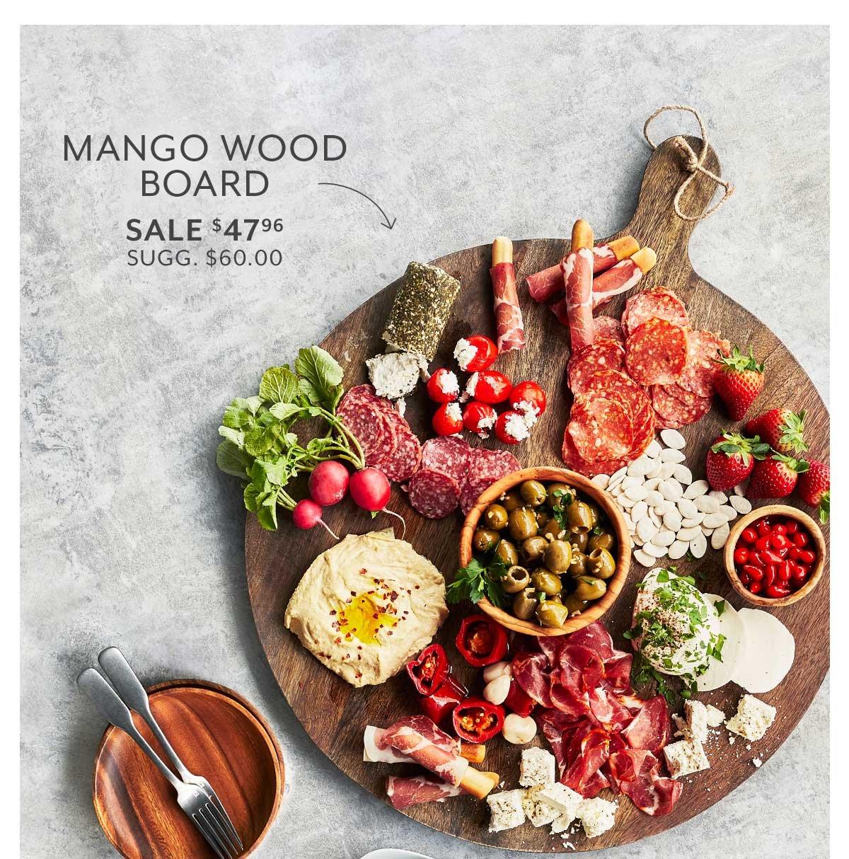 Mango Wood Board