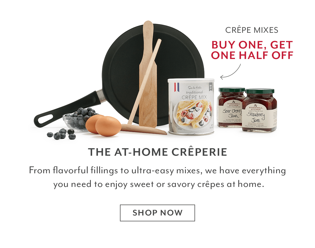 The At-Home Crêperie