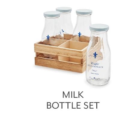 Milk Bottle Set