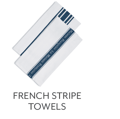 French Stripe Towels