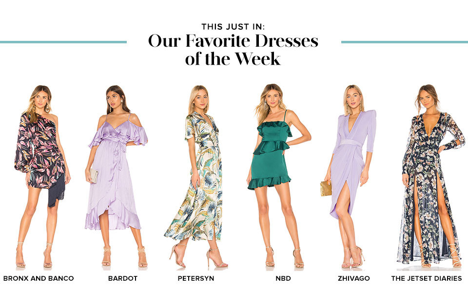 This just in. Our Favorite Dresses of the Week.