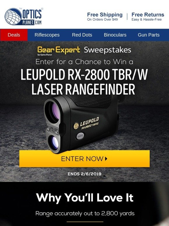 Optics Planet - Source: Enter for a Chance to Win a Leupold