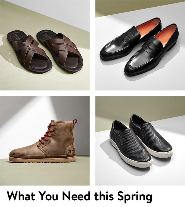 What you need this spring, men's shoes in every style for every occasion.