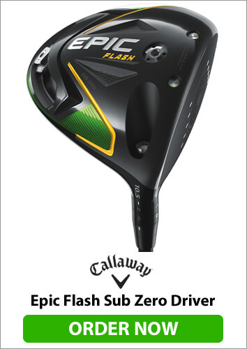 Callaway Epic Flash Sub Zero Driver - Order Now