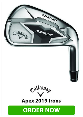 Callaway Apex 2019 Irons - Order Now
