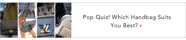 Pop Quiz! Which Handbag Suits You Best?