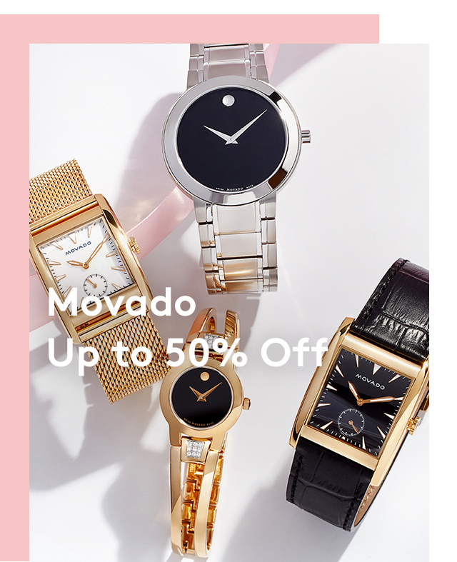 Movado | Up to 50% Off