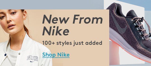 New From Nike | 100+ styles just added | Shop Nike