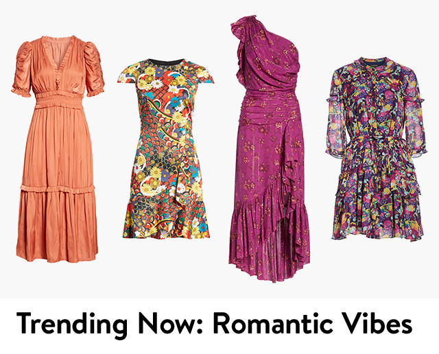 Trending now: romantic vibes.