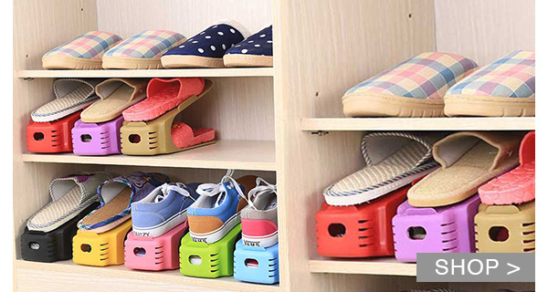DEAL OF THE DAY: SHOE ORGANIZERS