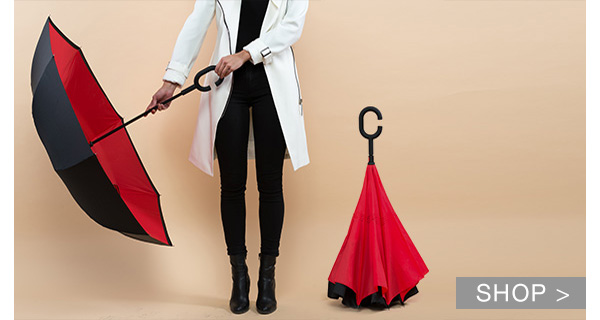 DEAL OF THE DAY: INVERTED UMBRELLAS