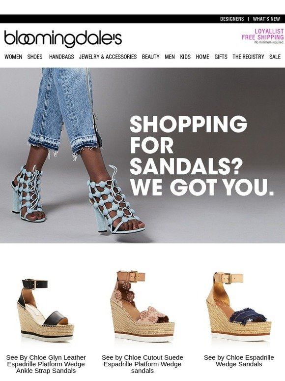Bloomingdales SandalsWe UkShopping YouMilled For Got exBCWrdo