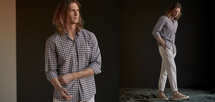 Laid-Back Looks With Billy Reid