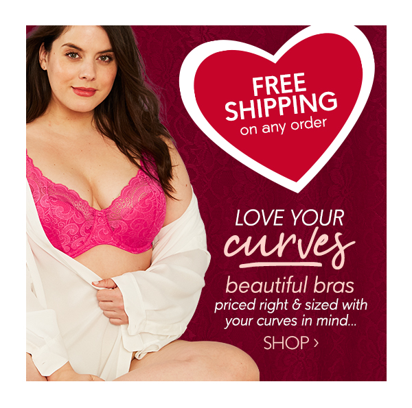64e013aaa Just My Size  Ship FREE + Valentine s Day Sale on Bras