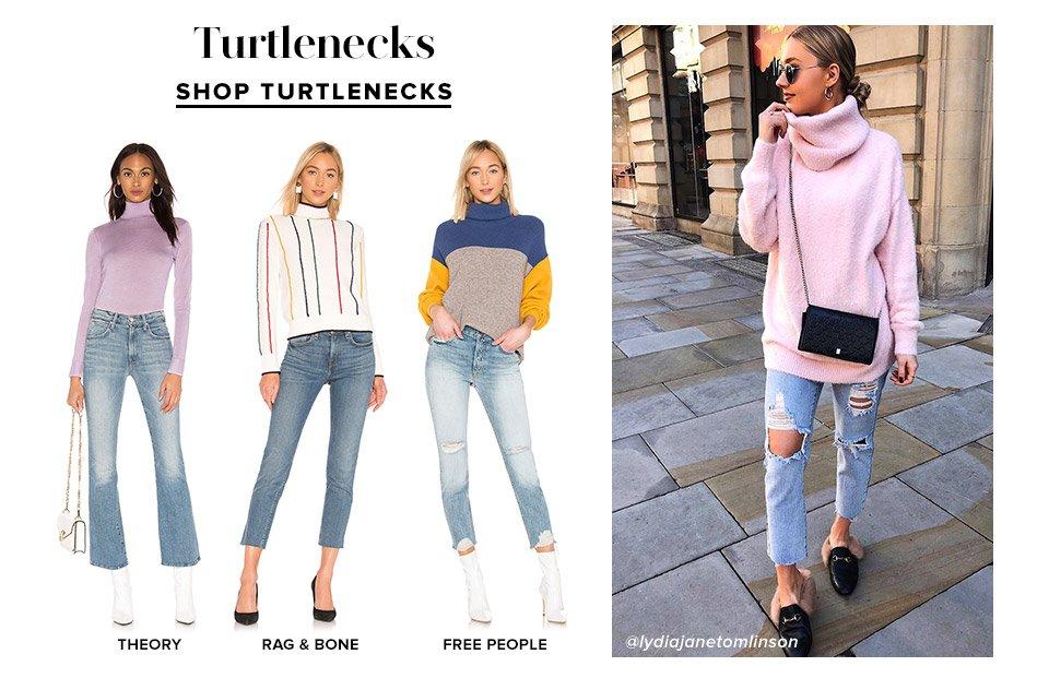 Turtlenecks. Shop Now.