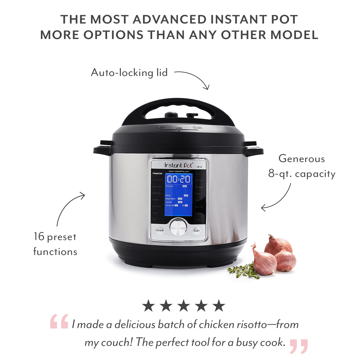 8-QT Instant Pot Sale
