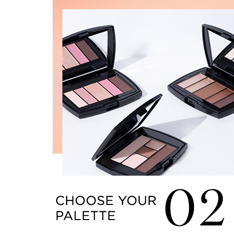 02 CHOOSE YOUR PALETTE