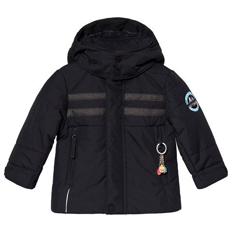 Poivre Blanc Navy Embroidered Back Ski Jacket