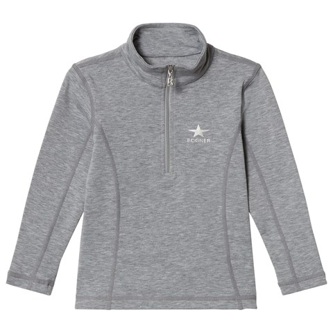 Bogner Grey Lurex Melange Ada Baselayer
