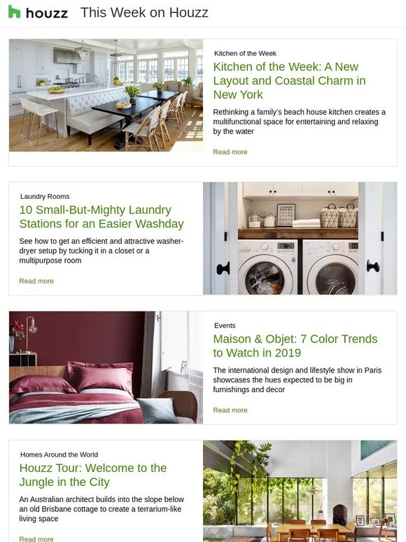 Houzz 7 Color Trends To Watch In 2019 Tour A Terrarium Like
