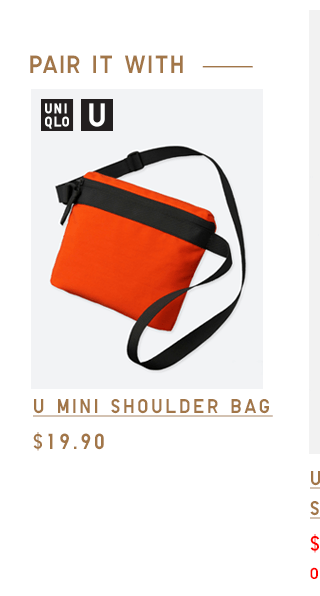 U LIGHTWEIGHT BAG $29.90