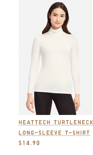 HEATTECH TURTLENECK LONG-SLEEVE T-SHIRT $14.90