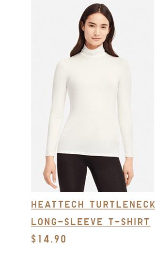 HEATTECH TURTLENECK LONG-SLEEVE T-SHIRT $14.90