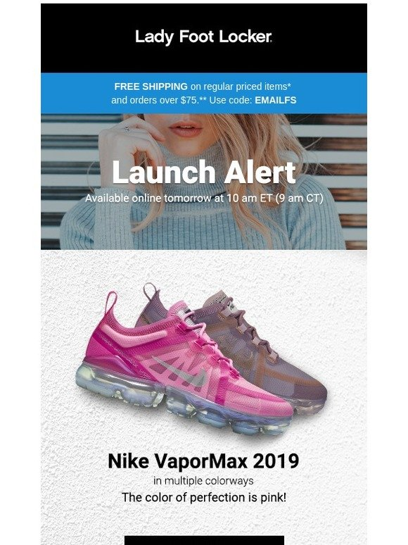 5b121ff6d792d Lady Foot Locker  New release  Nike VaporMax 2019 available 2.5