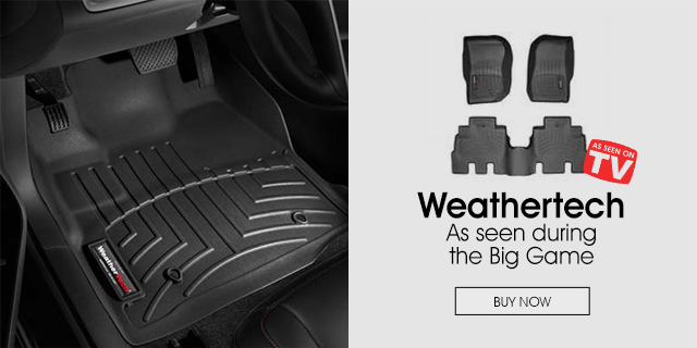 Weathertech - As seen during the Big Game