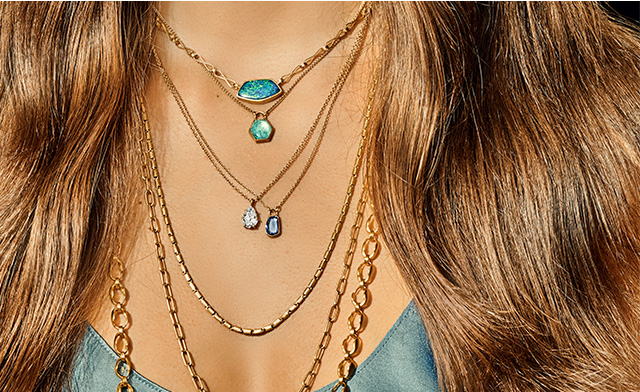 Learn how to mix and stack your jewelry.