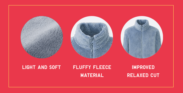 LIGHT AND SOFT, FLUFFY MATERIAL, IMPROVED REALAXED CUT