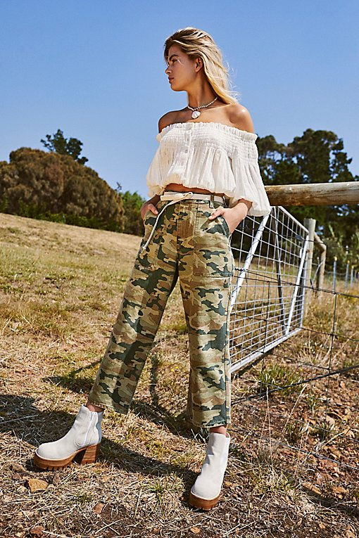 Remy Pant Camo Printed