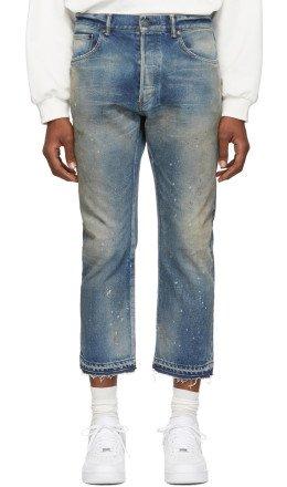 John Elliott - Indigo 'The Kane 2' Jeans