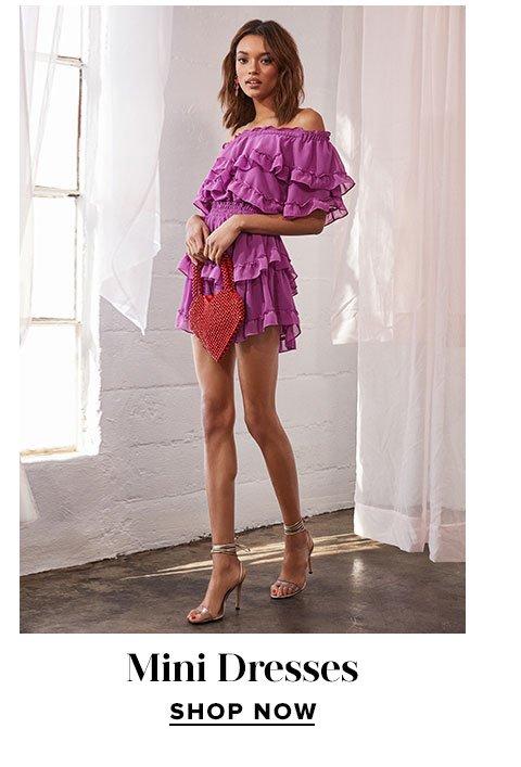 Lust List. Mini Dresses. Shop now.