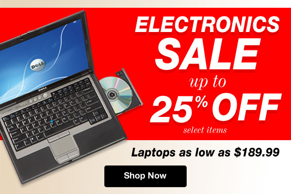 Shop Electronics SALE!