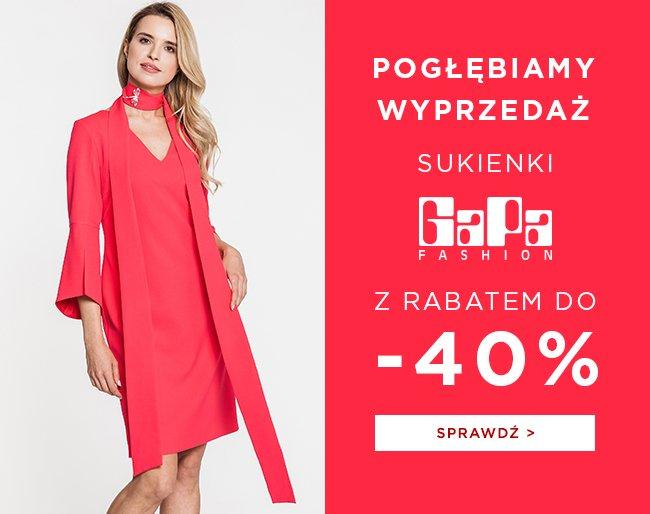 4969c78e3c Balladine  Pogłębiamy wyprzedaż. Sukienki GaPa Fashion z rabatem do ...
