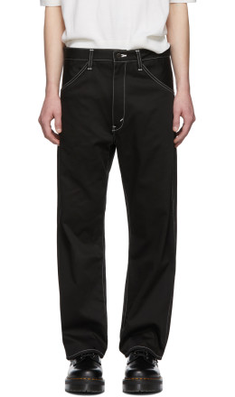 Junya Watanabe - Black Cotton Twill Trousers