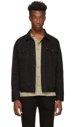 Levi's - Black Denim Trucker Jacket