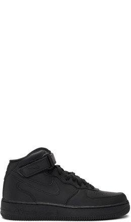 Nike - Black Air Force 1 High '07 Sneakers